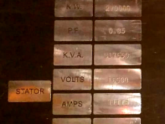 KVA KVAR and KW ratings of Turbo-Generator