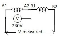 AC-Polarity test of three phase induction motor-01