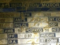Class-F Insulation for Induction motor