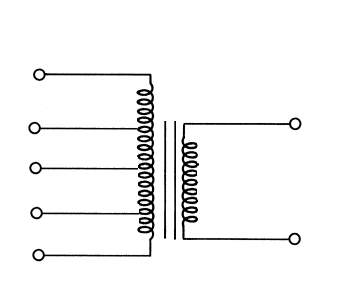 Step down transformer with Tap changers on primary