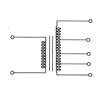 Step Up transformer with Tap changers on secondary