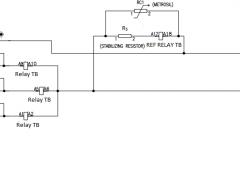 High Impedance REF scheme wiring