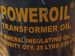 Transformer Oil Tin