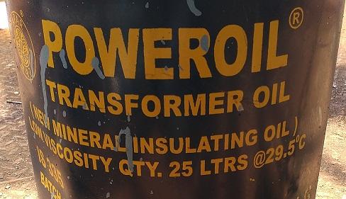 Transformer Oil Tin capacity 25 Ltrs