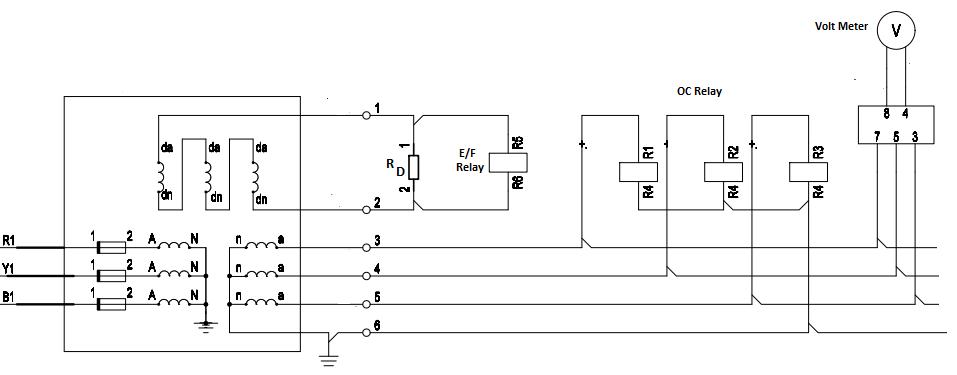 Practical PT Connection Circuit