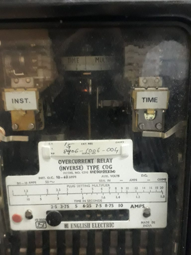 PSM and TMS Settings of a relay