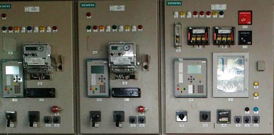 Electrical Panel with Over current and Ground fault protections